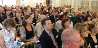 Part of the conference audience
