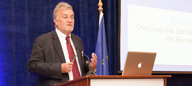 Mr. Stuart Bain, Chief Executive, East Kent Hospitals University NHS Foundation Trust addresses the HMI Annual Conference 2012
