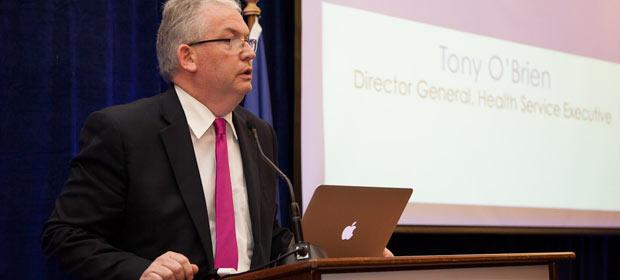 Tony O'Brien, Director General Designate, Health Service Executive addresses the HMI Annual Conference 2012