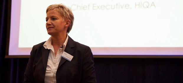 Dr. Tracey Cooper, Chief Executive, HIQA addresses the HMI Annual Conference 2012