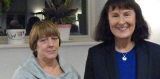 Lis Nixon and Pat O'Boyle