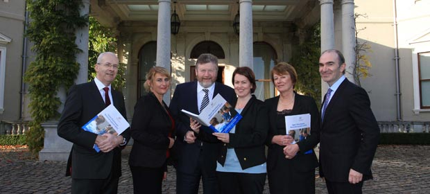 Mr. Greg Price, Director of Advocacy HSE, Ms. Angela Tysall, National lead for open disclosure HSE, Dr. James Reilly, Minister for Health, Ms. Ann Duffy, National lead for open disclosure State Claims Agency, Dr. Ailis Quinlan, Head of Clinical Indemnity Scheme, State Claims Agency and Mr. Ciarán Breen, Director of the State Claims Agency.