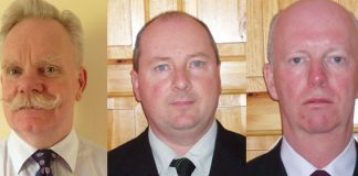 Dr.John Williams, Pathology Department and David Carty and John McElhinney, Risk Management Department, Sligo Regional Hospital.