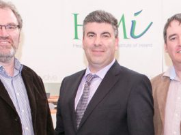 Ray Cahill and Michael Fenelon, McKesson Imaging & Workforce Solutions and Prof. Neil O'Hare of Clontarf Hospital