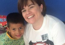 Lucy at Operation Smile