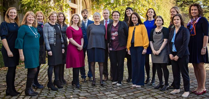 Members of the Irish Medication Safety Network at their Nov 2017 conference in Farmleigh House, Phoenix Park