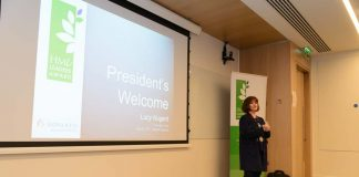 Lucy Nugent, HMI President
