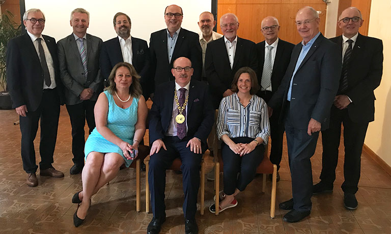 EAHM Executive Committee at its meeting in Graz