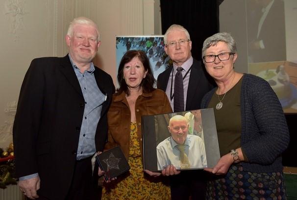 John McCusker, National Mental Health Service, Kay Leahy, John Connaughton and Fran Leahy
