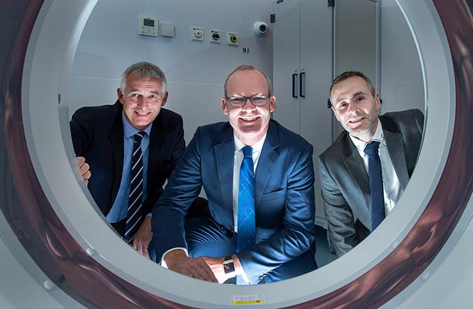 Radiology Department and the new Paediatric Assessment Unit at the Bon Secours Hospital Cork