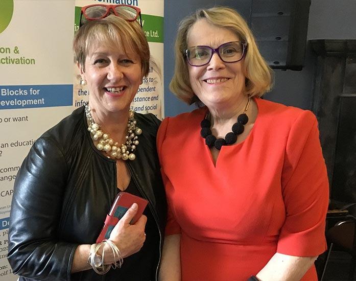 Carmel Geoghegan and Dr Helen Rochford Brennan