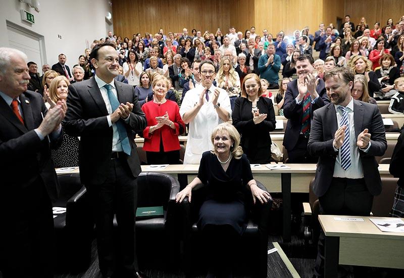 An Taoiseach, Leo Varadkar leads the tributes to Professor Laura Viani.