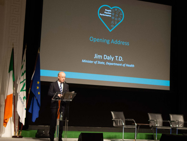 Mr. Jim Daly, Minister of State at the Department of Health
