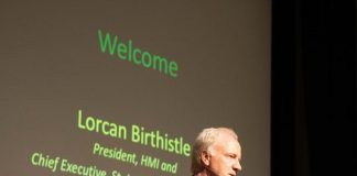 Mr. Lorcan Birthistle, President, HMI and CEO, St James's Hospital, Dublin
