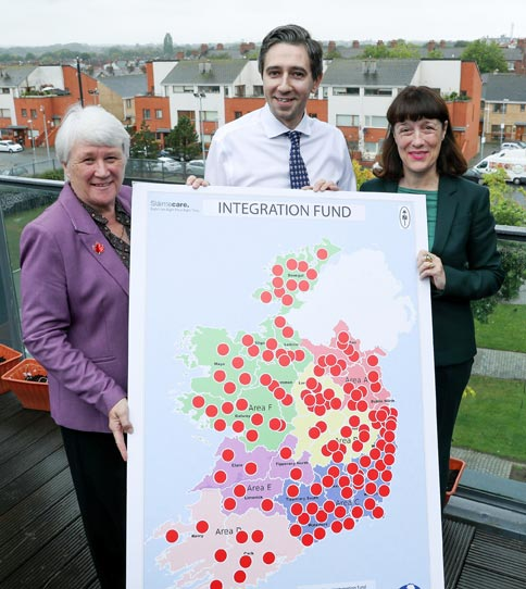 Ms. Catherine Byrne, Minister of State, Department of Health, Mr. Simon Harris, Minister of Health and Ms. Laura Magahy, Executive Director, Slaintecare
